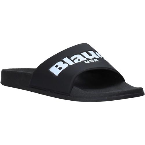 Boty Muži pantofle Blauer S0BAY02/PUC Černá