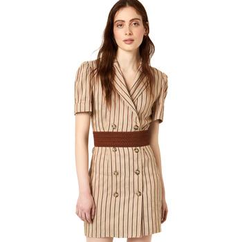 Textil Ženy Krátké šaty Liu Jo FA0213 T4197 Béžový