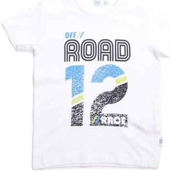 Textil Děti Trička s krátkým rukávem Melby 70E5544 Bílý