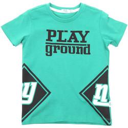 Textil Děti Trička s krátkým rukávem Melby 70E5544 Zelený