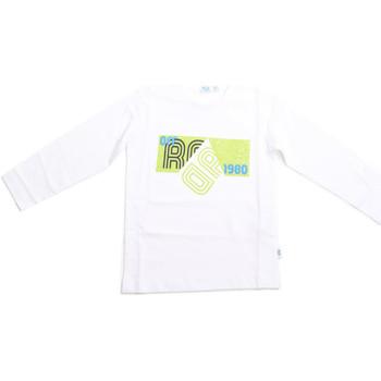 Textil Děti Trička s dlouhými rukávy Melby 70C5524 Bílý
