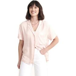 Textil Ženy Košile / Halenky Superdry W4010017A Růžový