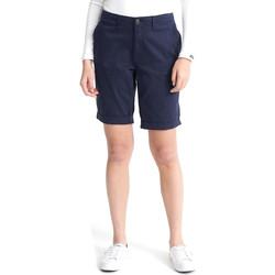 Textil Ženy Kraťasy / Bermudy Superdry W7110007A Modrý