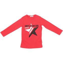 Textil Děti Trička s dlouhými rukávy Melby 70C5615 Červené
