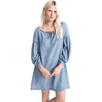 Textil Ženy Krátké šaty Superdry W8010099A Modrý