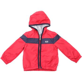 Textil Děti Teplákové bundy Melby 20Z7540 Červené