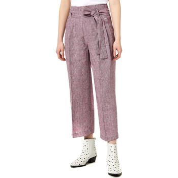 Textil Ženy Turecké kalhoty / Harémky Liu Jo FA0211 T4185 Fialový