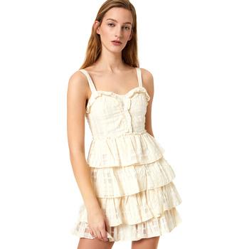 Textil Ženy Krátké šaty Liu Jo FA0312 T4190 Bílý