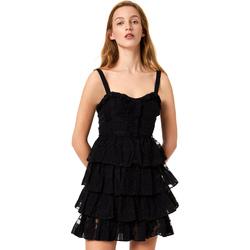 Textil Ženy Krátké šaty Liu Jo FA0312 T4190 Černá