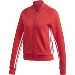 Textil Ženy Teplákové bundy adidas Originals FL4170 Červené