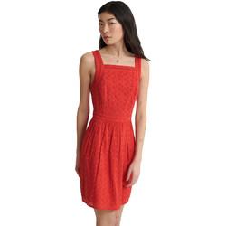 Textil Ženy Krátké šaty Superdry W8010090A Červené