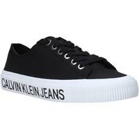 Boty Ženy Nízké tenisky Calvin Klein Jeans B4R0807X Černá
