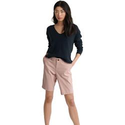 Textil Ženy Kraťasy / Bermudy Superdry W7110007A Růžový