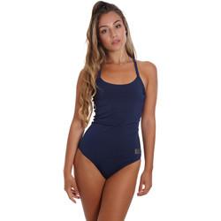Textil Ženy jednodílné plavky Ea7 Emporio Armani 911029 CC417 Modrý