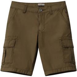 Textil Děti Kraťasy / Bermudy Napapijri NP0A4E4G Zelený