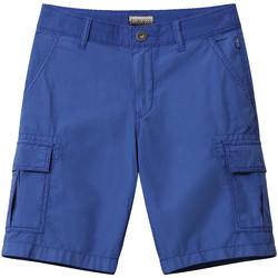 Textil Děti Kraťasy / Bermudy Napapijri NP0A4E4G Modrý