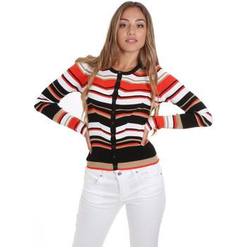 Textil Ženy Svetry / Svetry se zapínáním Liu Jo MA0084 MA99E Oranžový