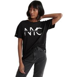 Textil Ženy Trička s krátkým rukávem Superdry W1000011A Černá