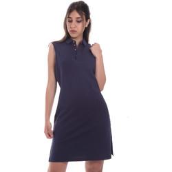Textil Ženy Krátké šaty Ea7 Emporio Armani 3HTA58 TJI3Z Modrý