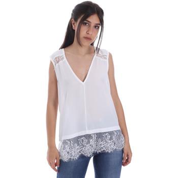 Textil Ženy Halenky / Blůzy Gaudi 011FD45055 Bílý
