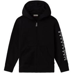 Textil Děti Teplákové bundy Napapijri NP0A4EB1 Černá