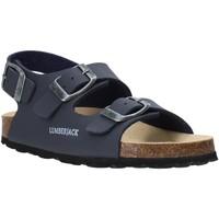 Boty Děti Sandály Lumberjack SB78706 001 S03 Modrý