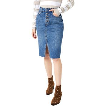 Textil Ženy Sukně Liu Jo UA0128 D4465 Modrý