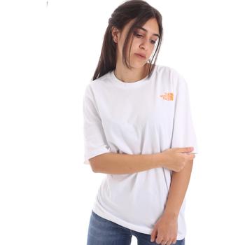 Textil Ženy Trička s krátkým rukávem The North Face NF0A4M5QP9V1 Bílý