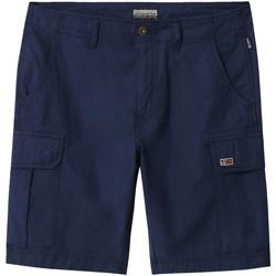 Textil Muži Kraťasy / Bermudy Napapijri NP0A4E1K Modrý