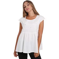 Textil Ženy Halenky / Blůzy NeroGiardini E062761D Bílý