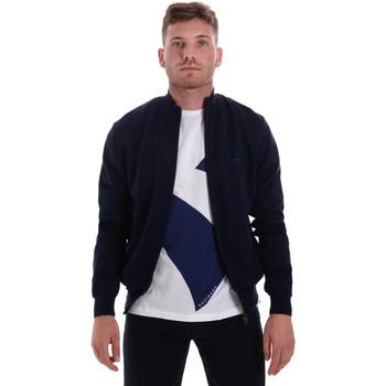 Textil Muži Svetry / Svetry se zapínáním Navigare NV00203 70 Modrý