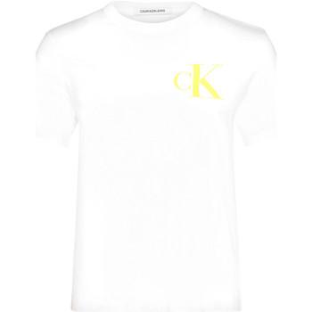 Textil Ženy Trička s krátkým rukávem Calvin Klein Jeans J20J213562 Bílý