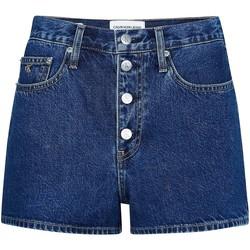 Textil Ženy Kraťasy / Bermudy Calvin Klein Jeans J20J213866 Modrý