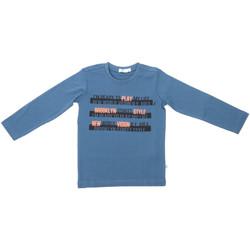 Textil Děti Trička s dlouhými rukávy Melby 70C5524 Modrý