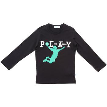 Textil Děti Trička s dlouhými rukávy Melby 70C5524 Černá