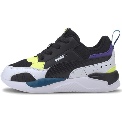 Boty Děti Nízké tenisky Puma 374265 Černá