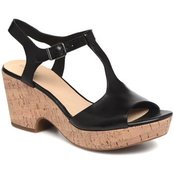 Boty Ženy Sandály Clarks 26142156 Černá
