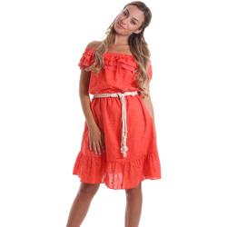 Textil Ženy Krátké šaty Liu Jo FA0173 T4191 Oranžový