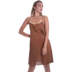 Textil Ženy Krátké šaty Liu Jo FA0032 T5957 Hnědý