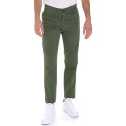 Textil Muži Mrkváče Les Copains 9U3320 Zelený