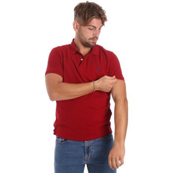 Textil Muži Polo s krátkými rukávy U.S Polo Assn. 55957 41029 Červené