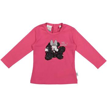Textil Děti Trička s dlouhými rukávy Melby 20C2101DN Růžový