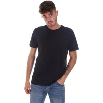 Textil Muži Trička s krátkým rukávem Navigare NV31128 Modrý