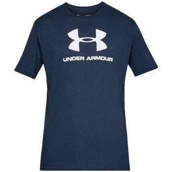 Textil Muži Trička s krátkým rukávem Under Armour Sportstyle Logo Tee Tmavomodré