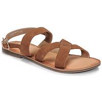 Boty Ženy Sandály Kickers DIBA-2 Velbloudí hnědá