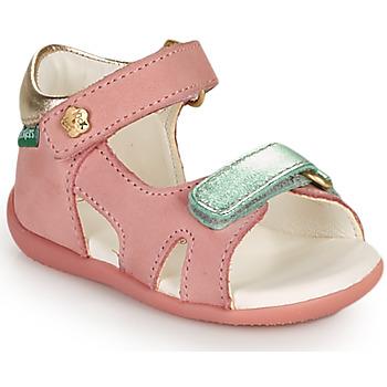 Boty Dívčí Sandály Kickers BINSIA-2 Růžová