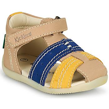 Boty Chlapecké Sandály Kickers BIGBAZAR-2 Tmavě modrá
