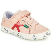 Boty Dívčí Nízké tenisky Kickers GODY Růžová