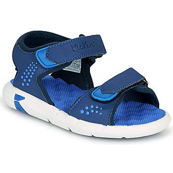 Boty Chlapecké Sandály Kickers JUMANGAP Modrá