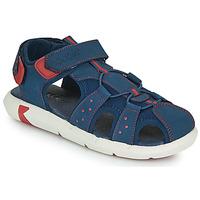 Boty Chlapecké Sandály Kickers JUMANGE Tmavě modrá